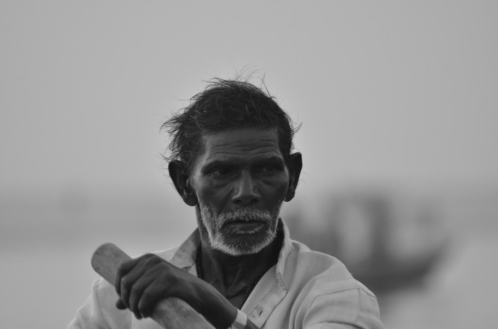 Rudern in Varanasi