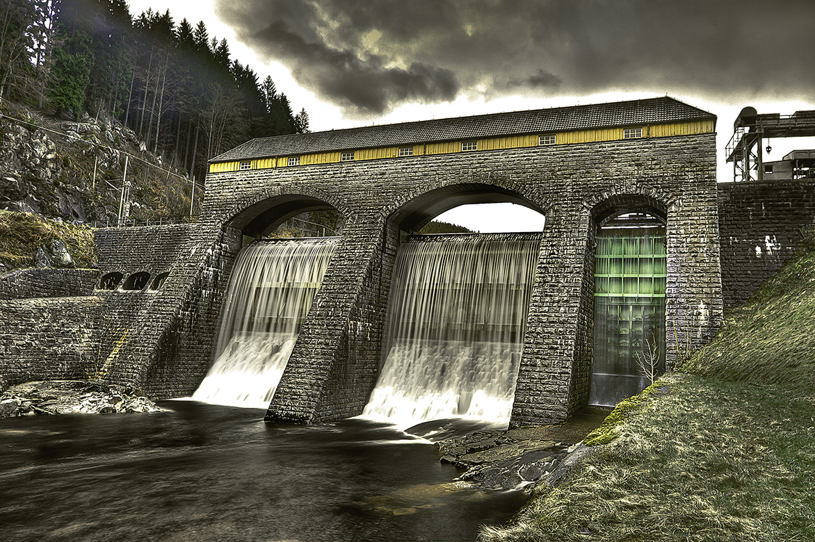 Rudolf-Fettweis-Wasserkraftwerk//Forbach