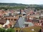 Rudolstadt von der Heidecksburg aus
