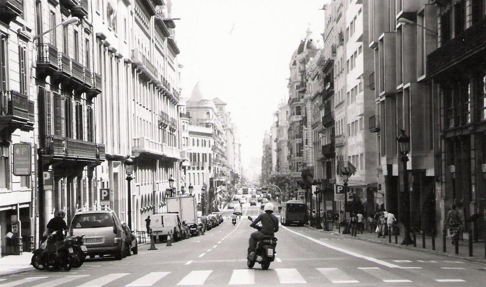 Rue à la volée