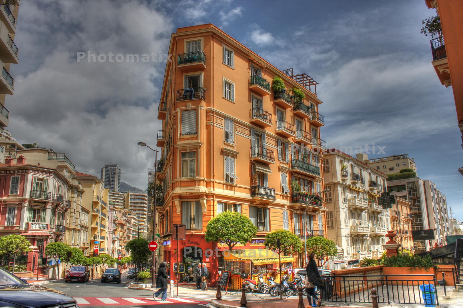 Rue de Gremaldi in Monte Carlo