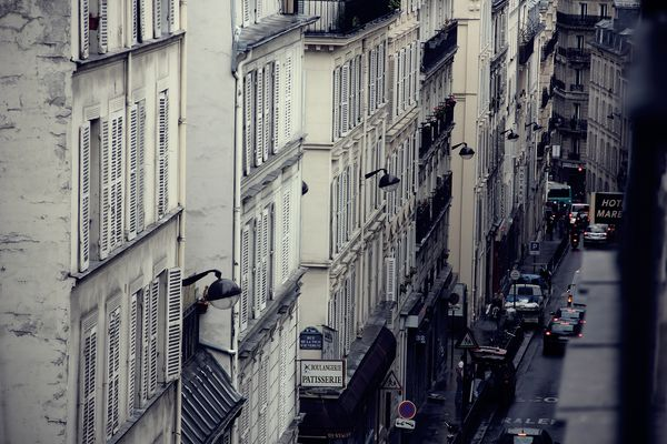 Rue de Rocher in Paris