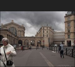 Rue Maubeuge an der Gare du Nord, Paris 10e