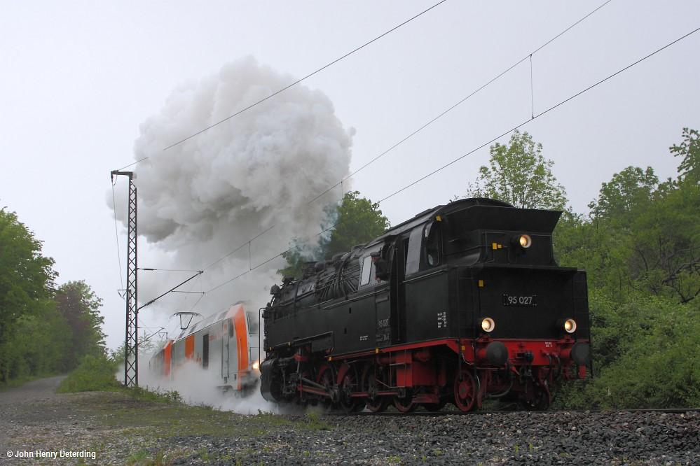 Rübelandbahn, 95 1027, Mai 2010, Personalschulungsfahrten