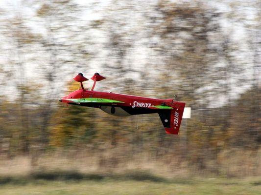 Rückenflug KatanaS die zweite