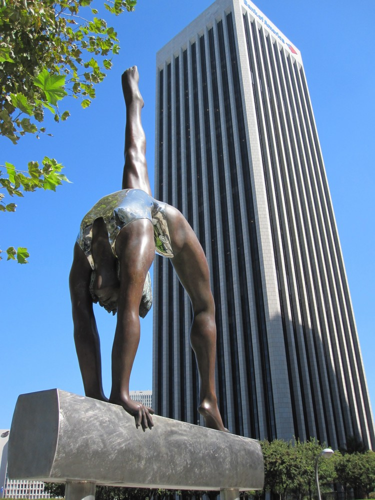 Rückengymnastik in Los Angeles