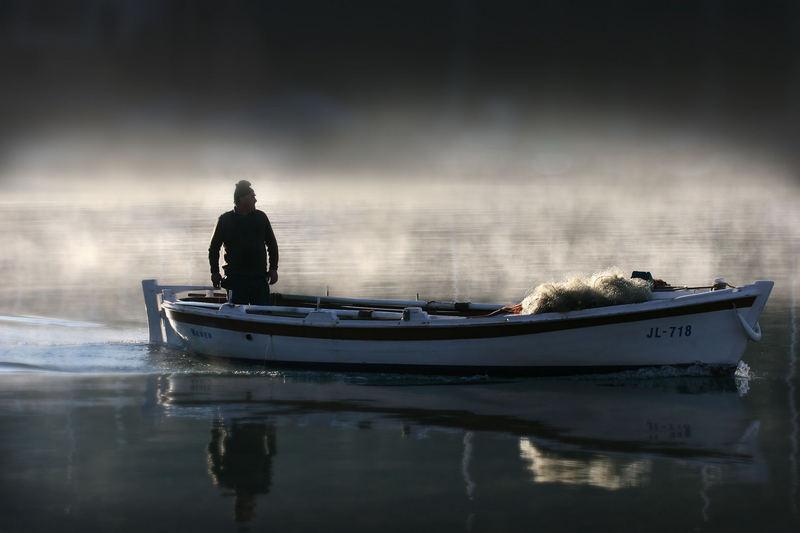 Rückkehr vom Fischfang