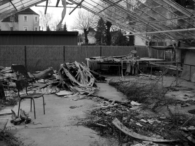 Rückschritt indutrieller Revolutionen im Gartenbauwesen