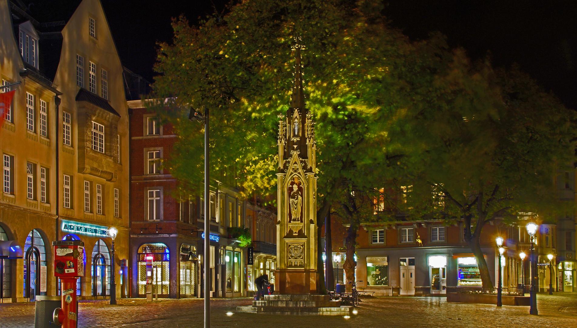 Rückseite vom Dom in Aachen