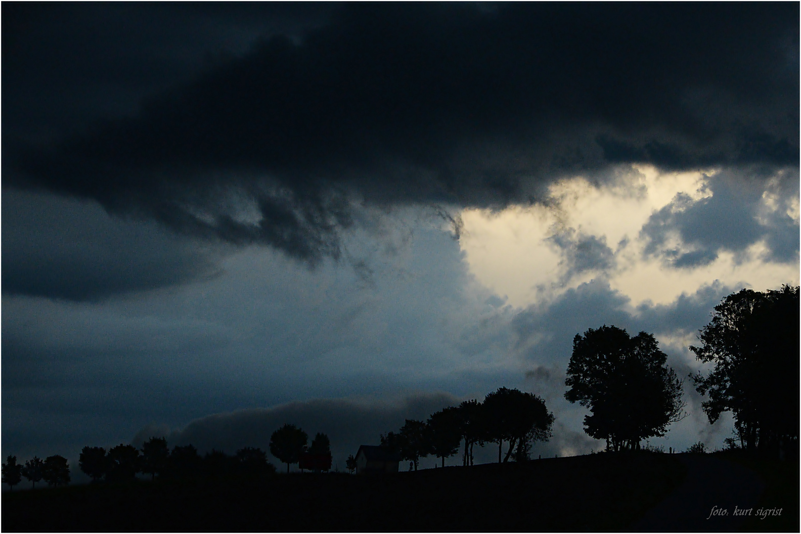Rückseiten-Wetter