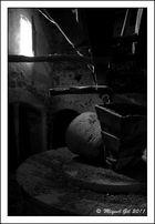 Rueda de molino de almazara (tafona)