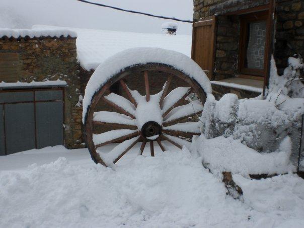 rueda nevada....