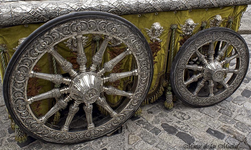 ...ruedas de plata...