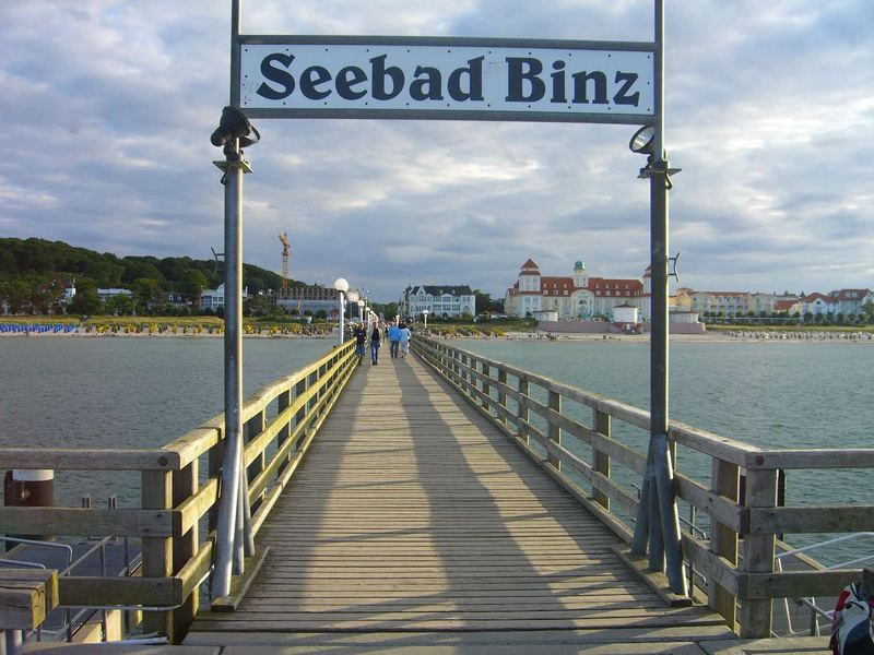 Rügen 2005 - Seebad Binz - Seebrücke