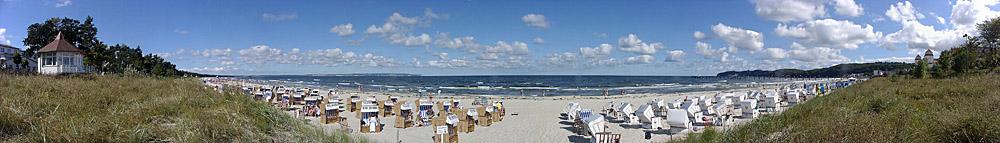 Rügen - Binz - Am Strand