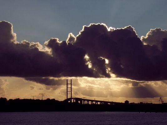 Rügen-Brücke vor Stralsund