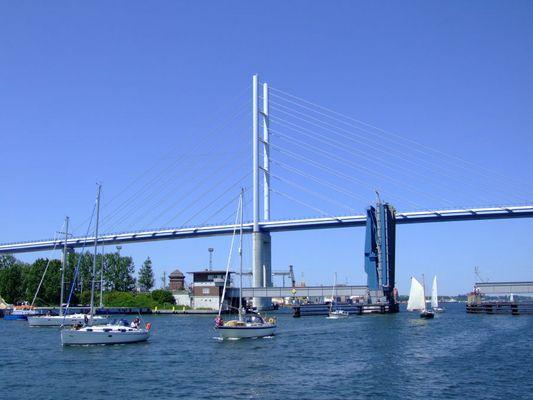 Rügendamm und Rügenbrücke