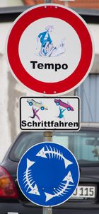 Rügener Verkehrszeichen