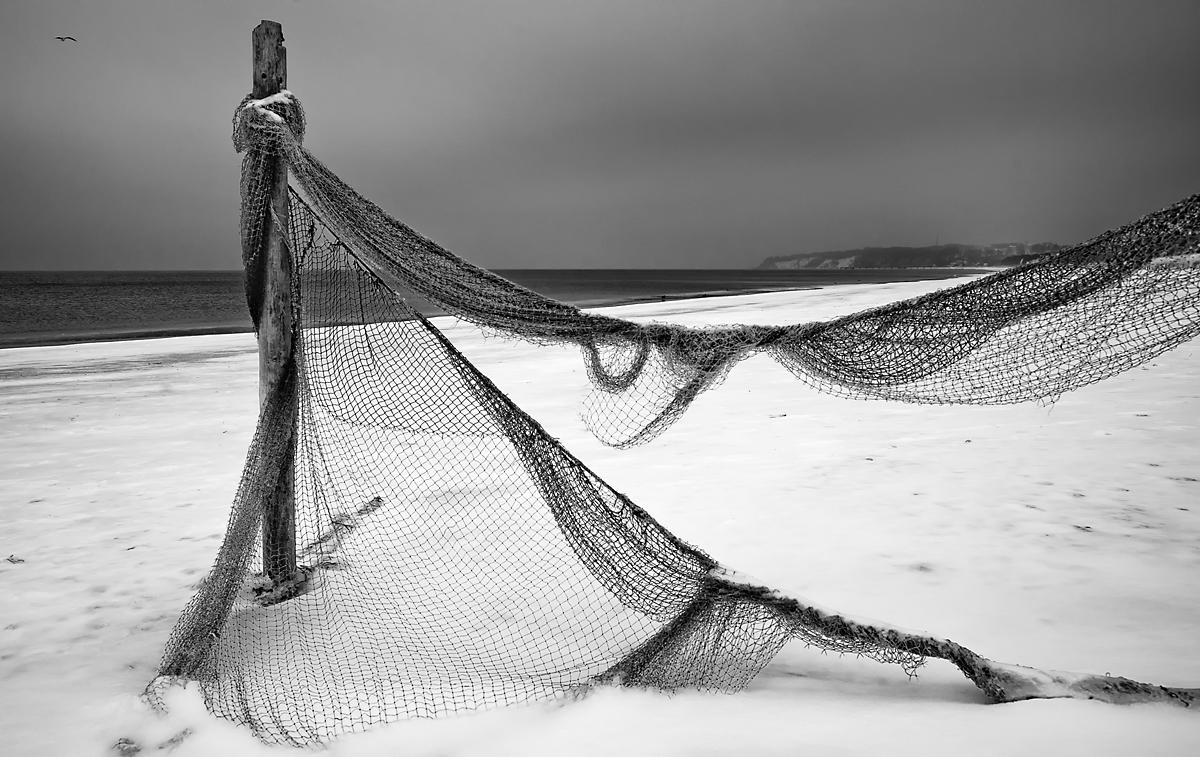 Rügen_Fischernetz bei Baabe