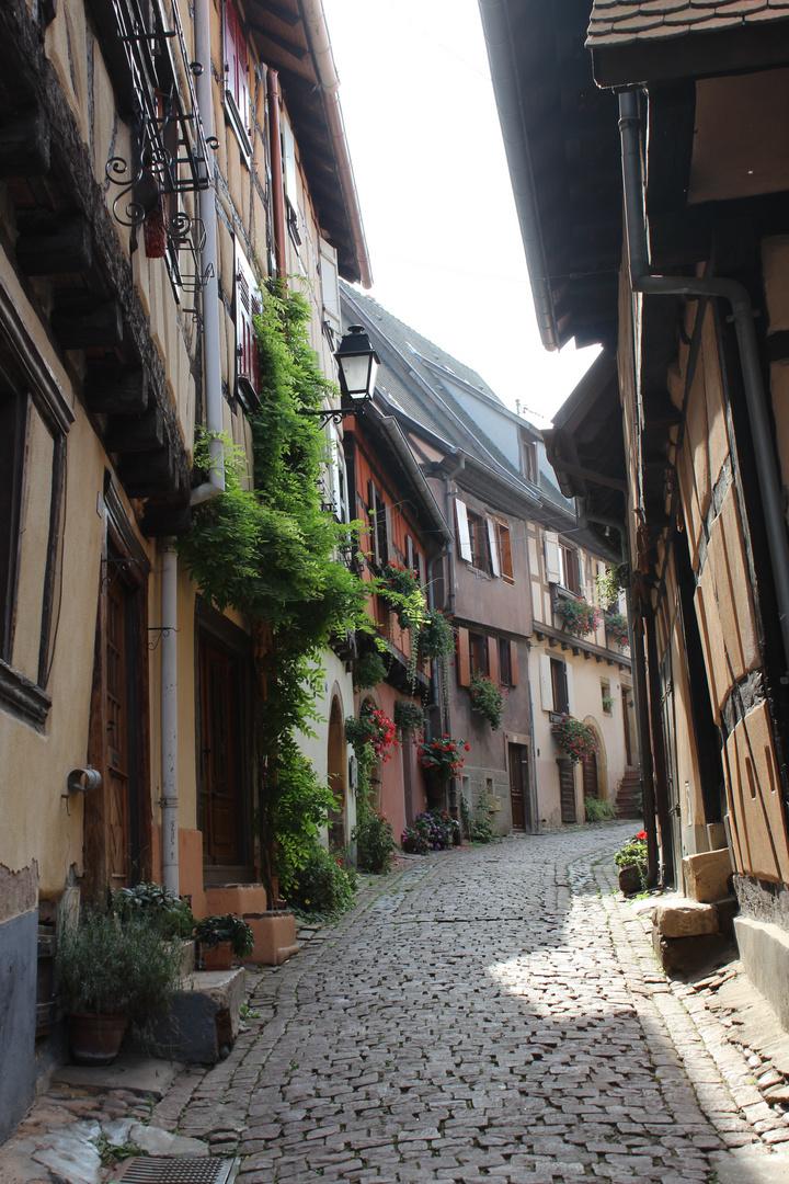 Ruelle à Eguisheim