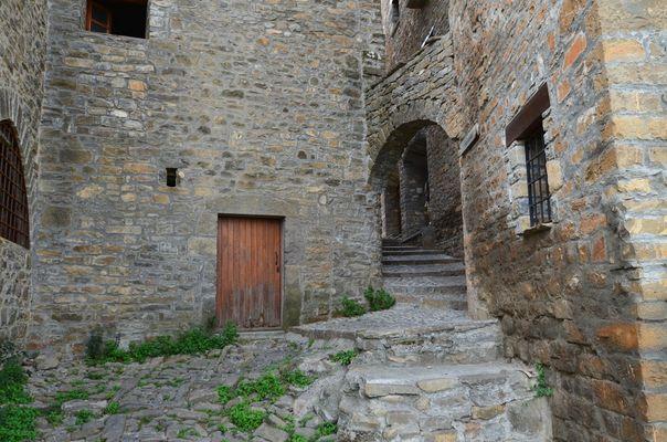 Ruelle - Aïnsa - Espagne - Province d'Aragon