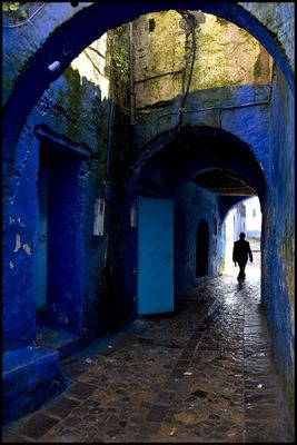 Ruelle de Chefchaouen - Maroc