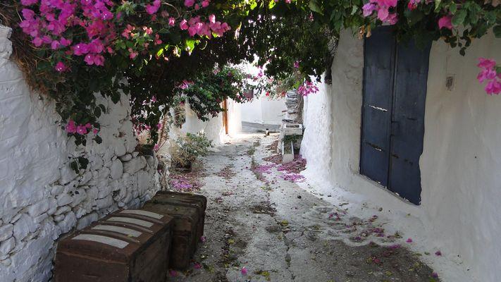 ruelle village île de Rhodes