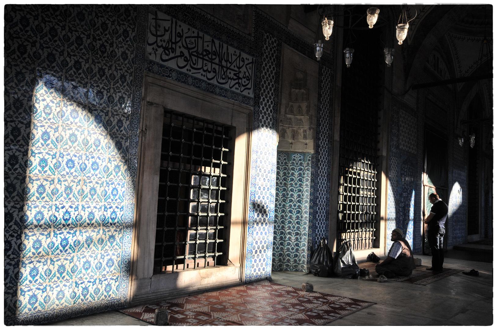 Rüstem Pascha Moschee in Instanbul