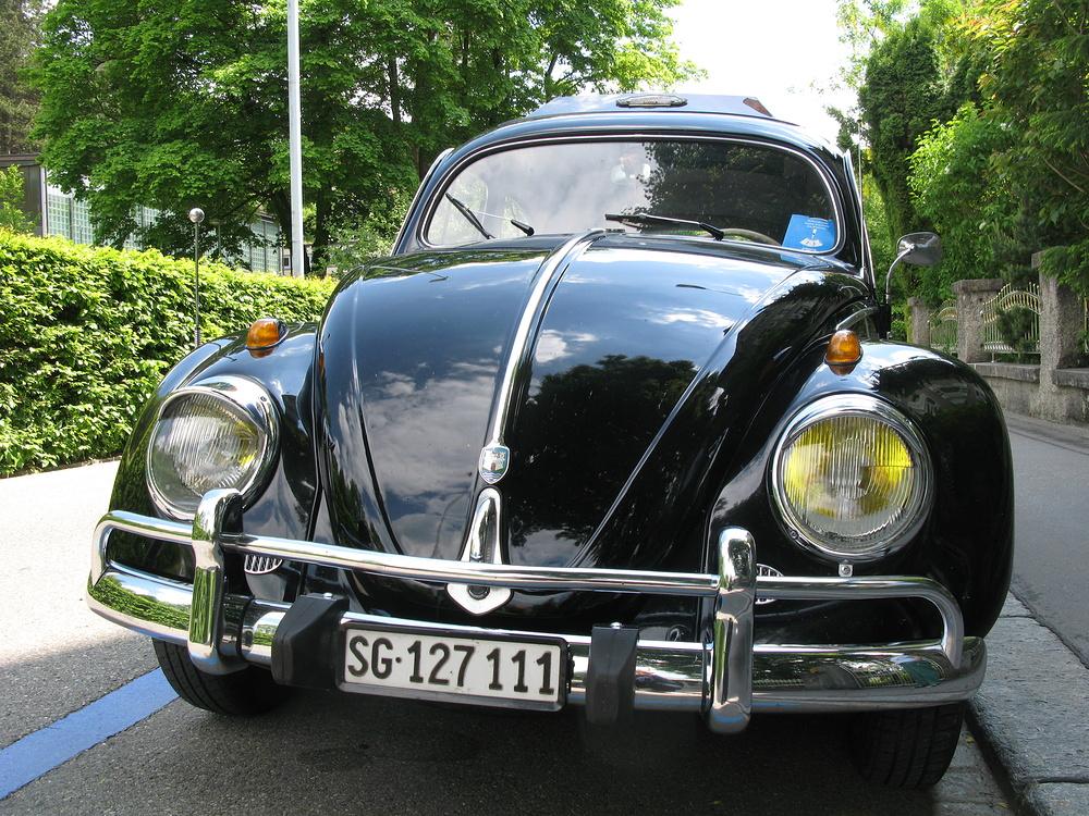 Rüstiger, aufgepäppelter Käfer Jahrgang 1956