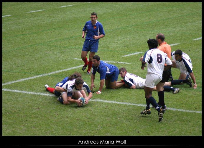Rugby ... Da verstehe einer die Regeln.