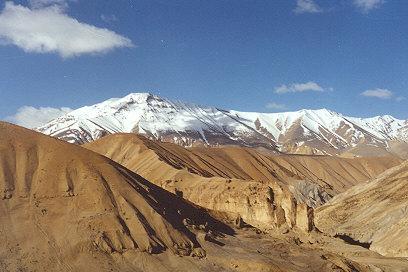 Rugged Landscape of Ladakh Region