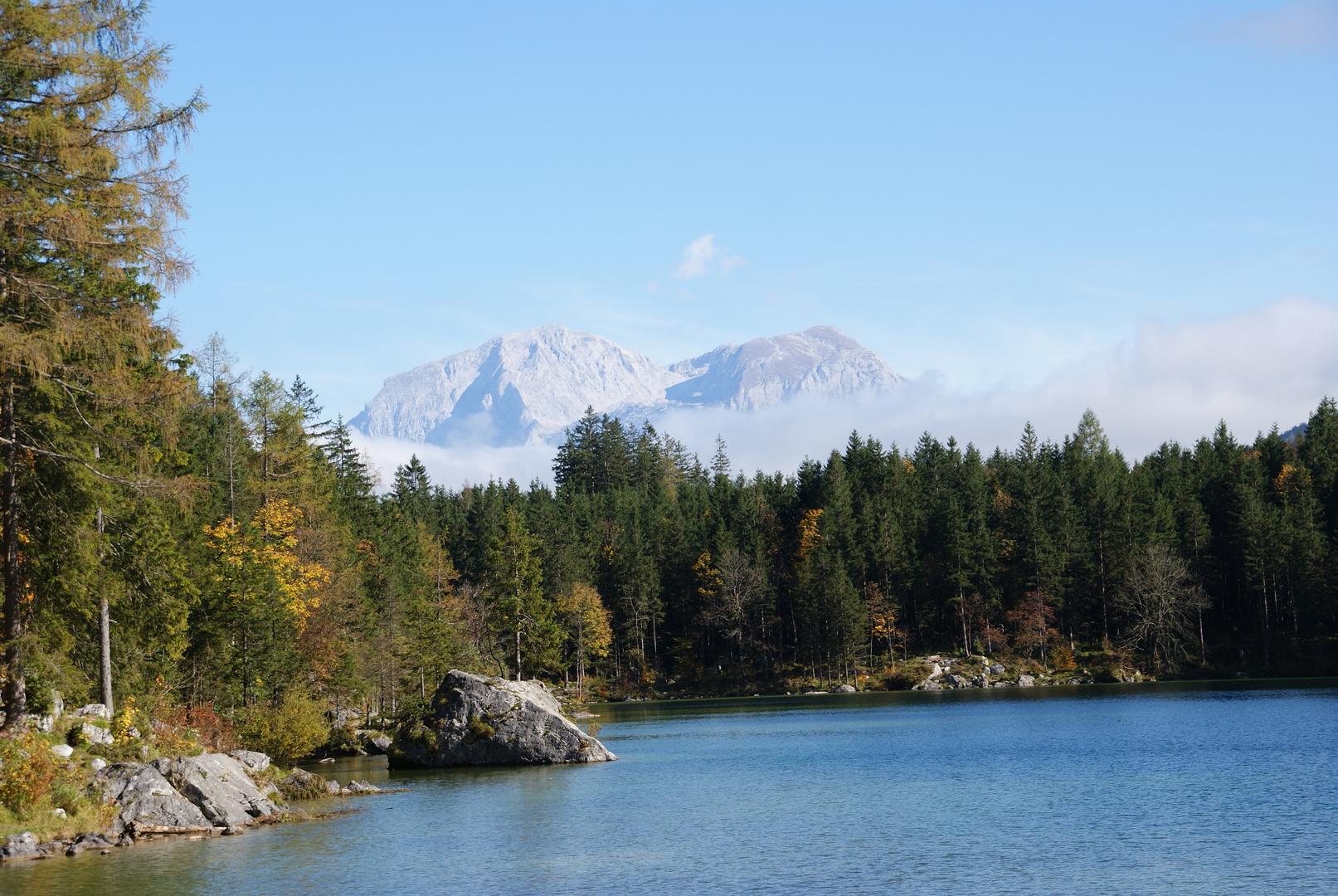 Ruhe am Hintersee, Berchtesgaden