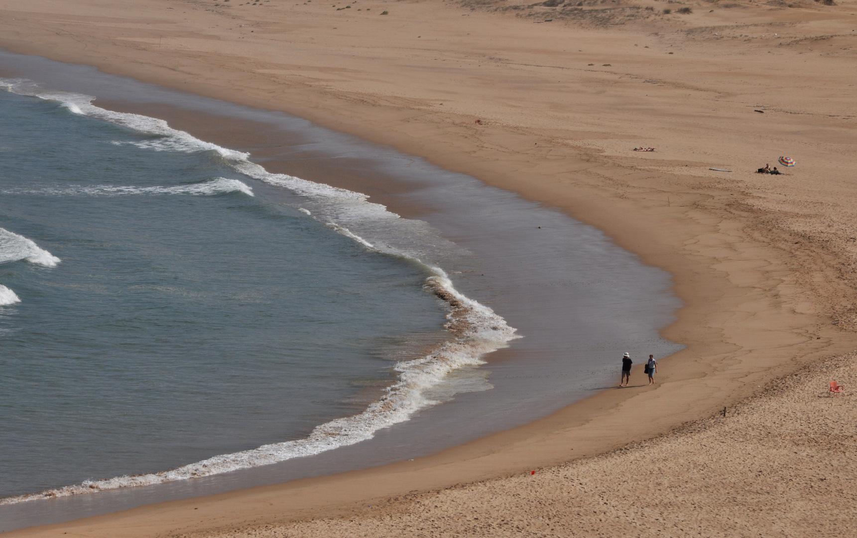Ruhe an der Düne.....ablaufendes Wasser