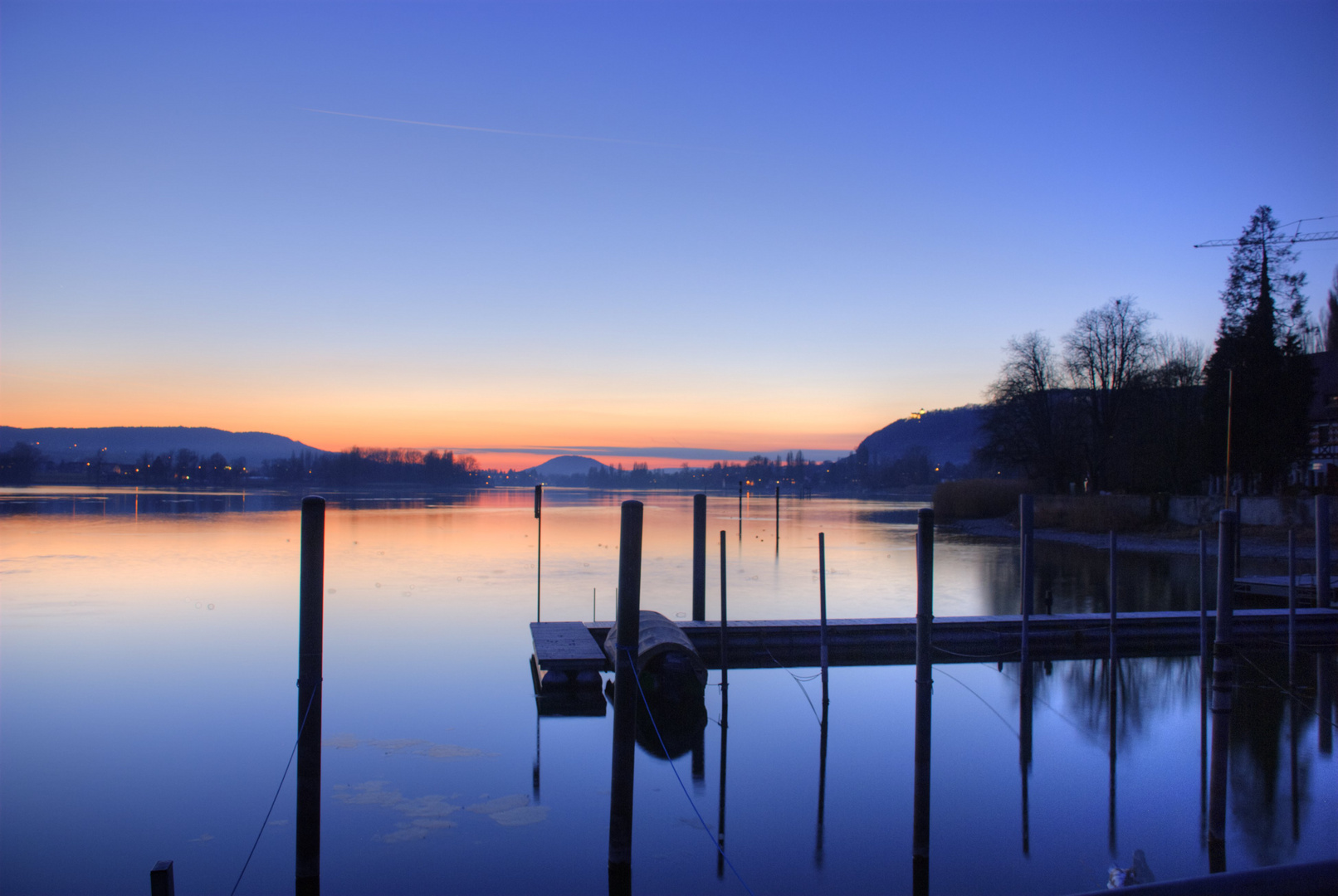 Ruhe auf dem See