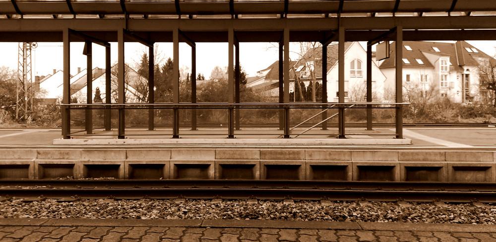 Ruhe bei Der Bahn