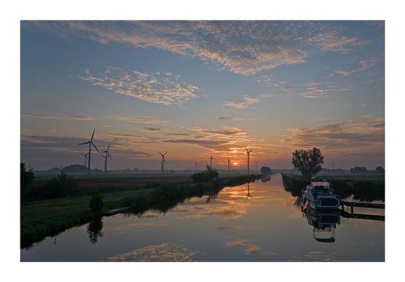 Ruhe des frühen Morgens