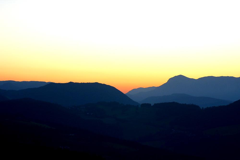 Ruhe genießen auf einer Hügelkuppe in Niederösterreich!