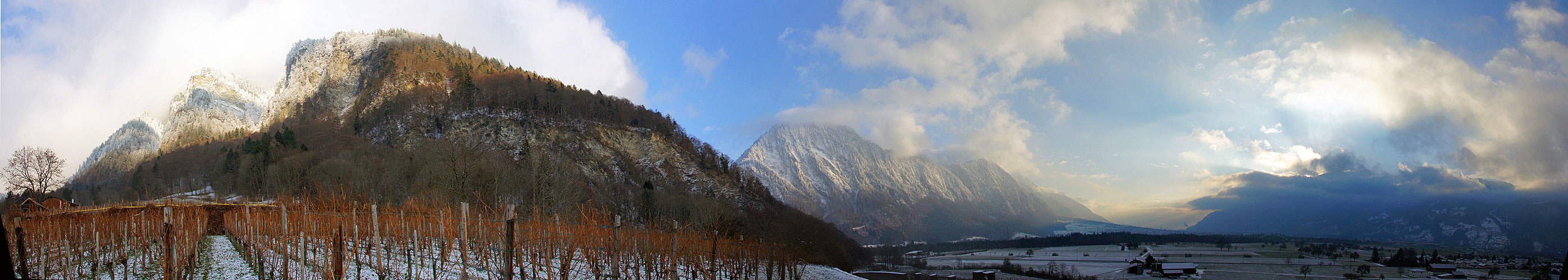 Ruhe im Weinland Graubünden