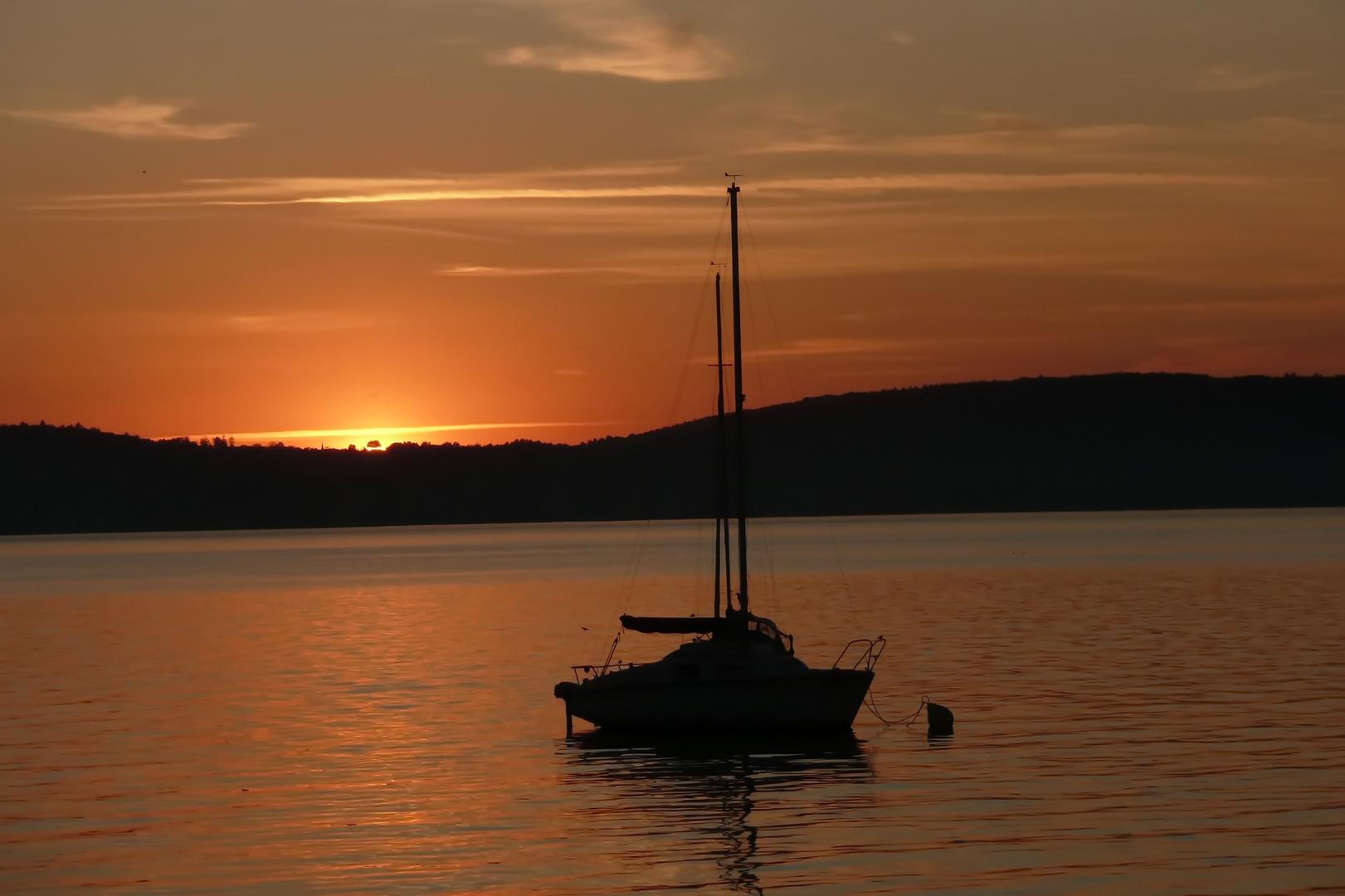 Ruhe über dem See