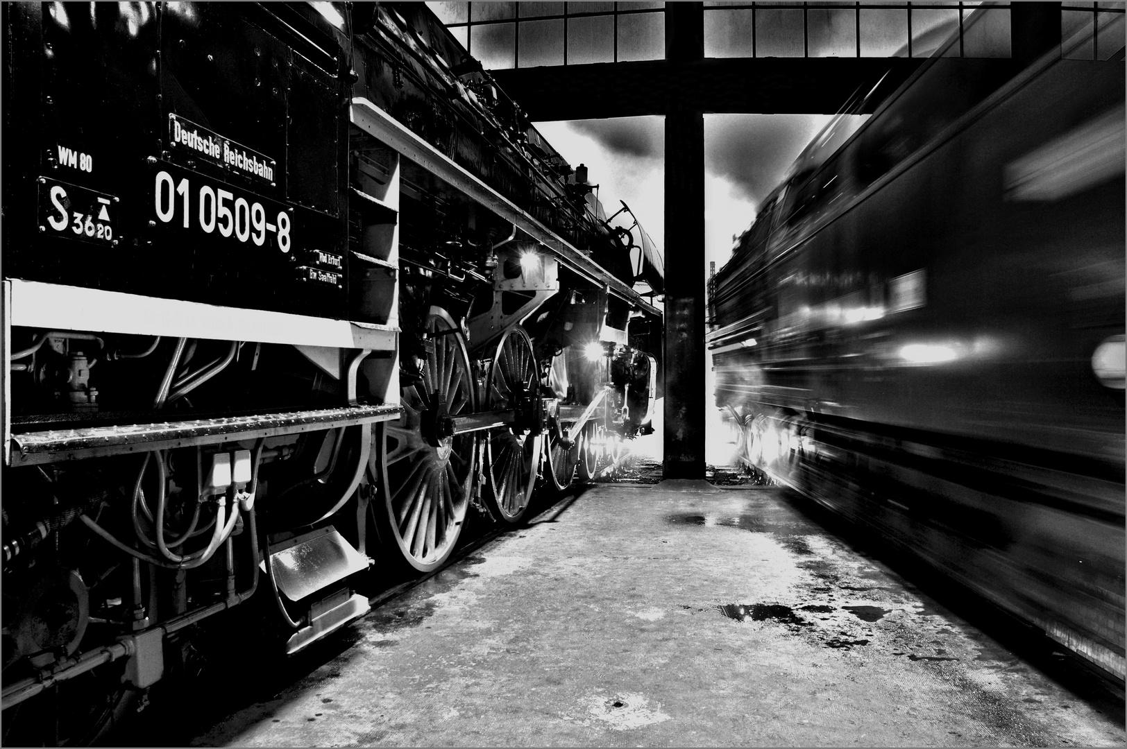Ruhe und Ausfahrt - Dampfloktreffen Dresden 2013