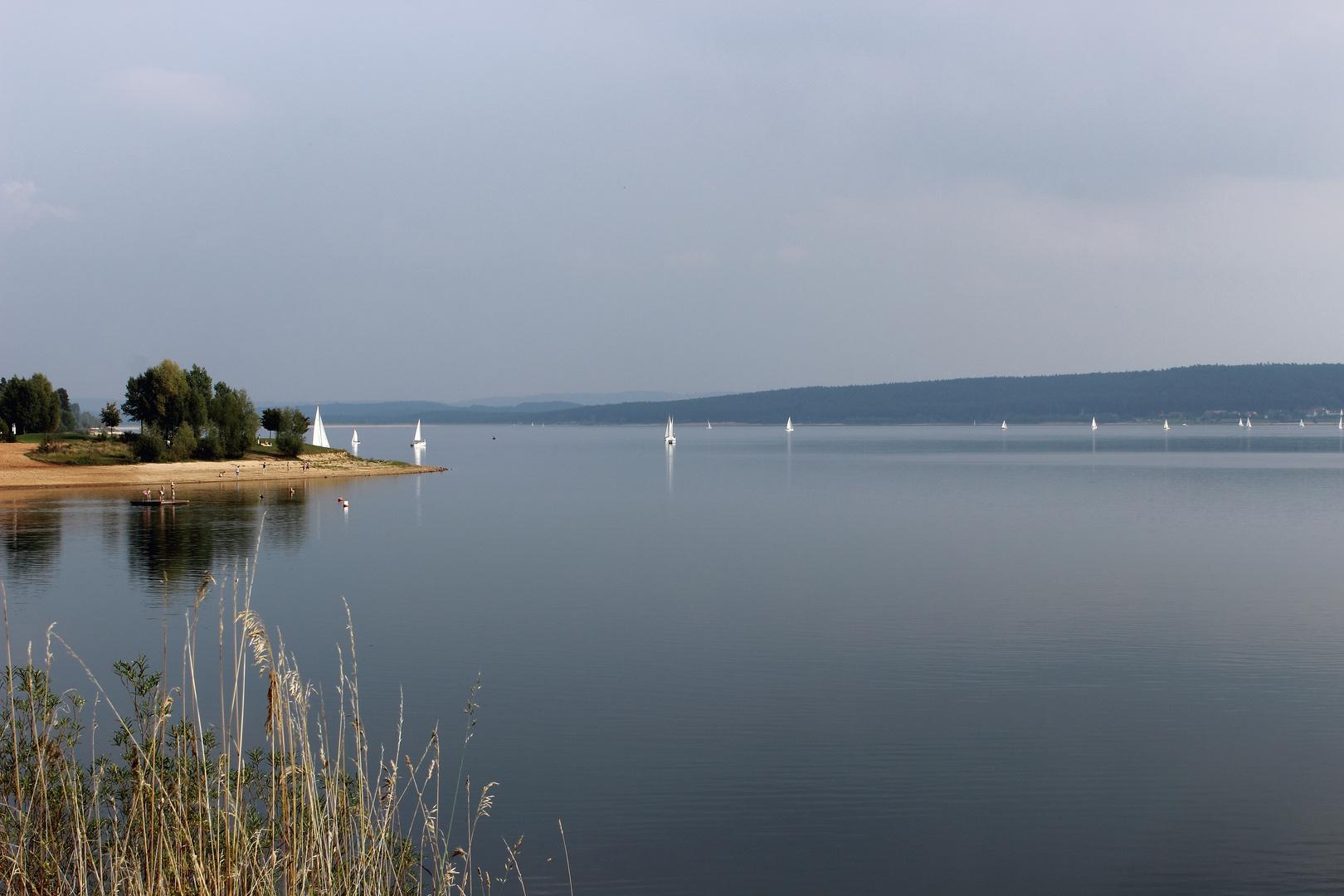 Ruhe und Erholung am See
