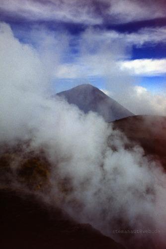 Ruhe vor dem Sturm Etna 1979