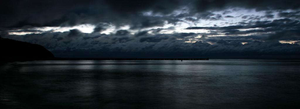 Ruhe vor dem Sturm (Strand Kölpinsee, Usedom)