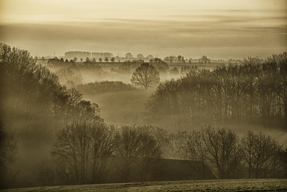 Ruhende Landschaft