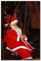Ruhender Weihnachtsmann
