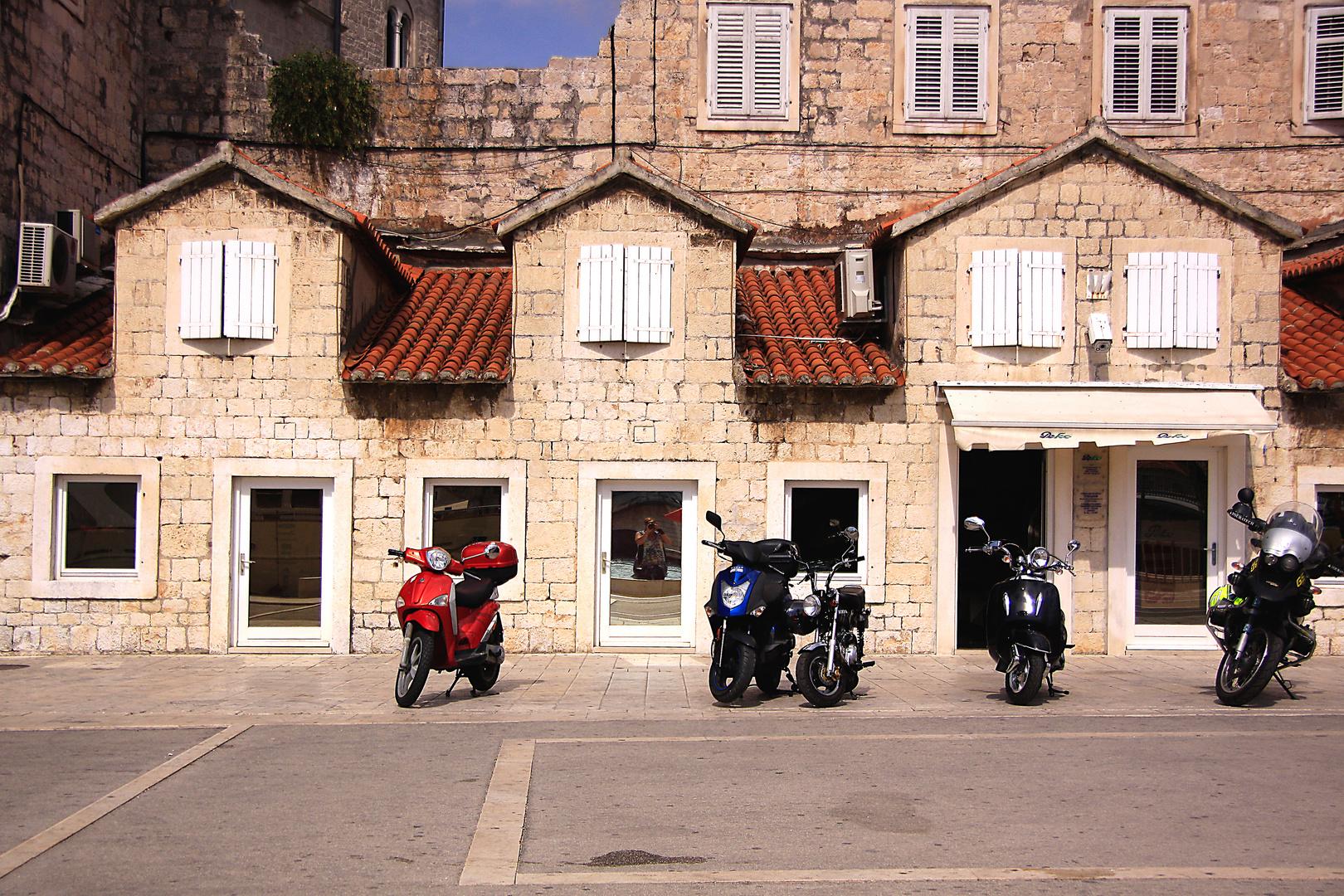 Ruhepause in Trogir