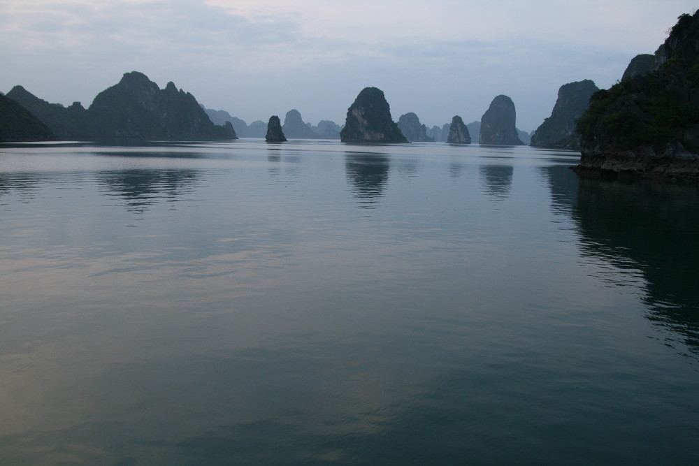 Ruhestimmung in der Halong Bay