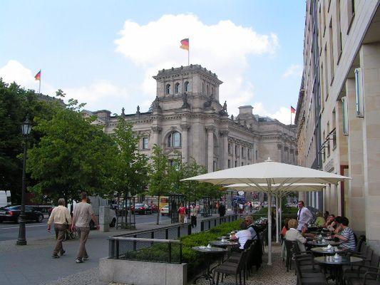 Ruhig Sommer in Berlin