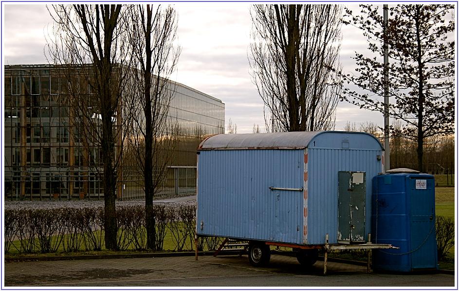 Ruhr-Tour (7), der Bauwagen