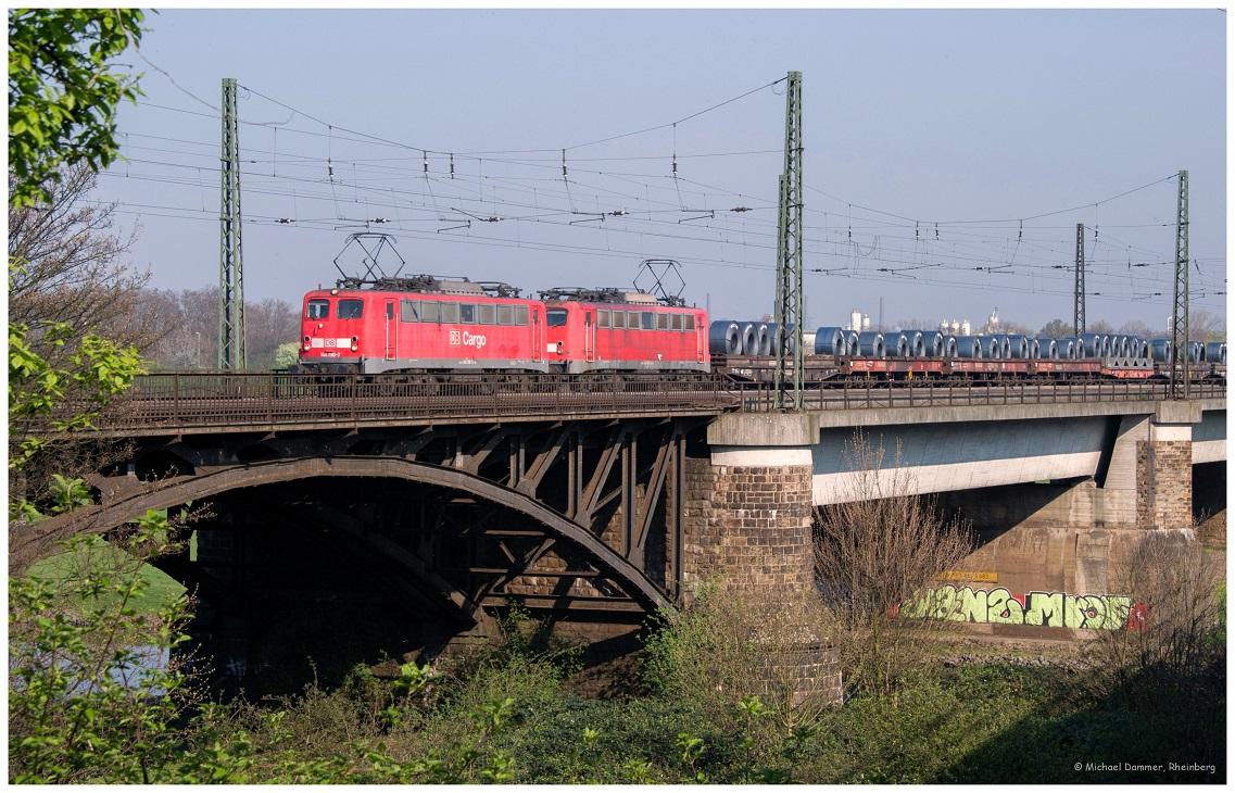 Ruhrbrücke bei Duisburg